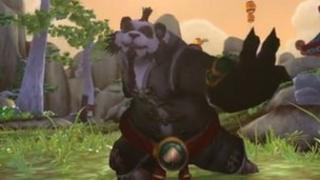 Screengrab of Pandaren monk