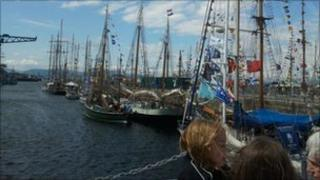 Greenock Tall Ships