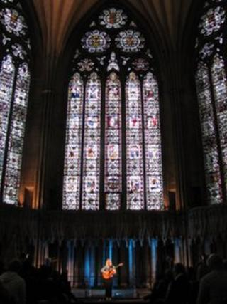 Laura Marling at York Minster