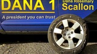 Dana's tyre