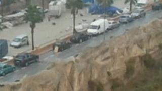 Flood in Finestrat