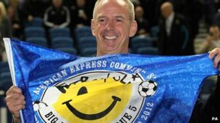 DJ Fatboy Slim announcing the concert dates