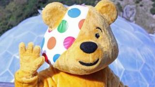 Pudsey Bear - Picture Ben Foster/Eden Project