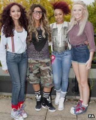 X Factor band Rhythmix