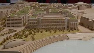 Model of proposed development at the Esplanade Quarter