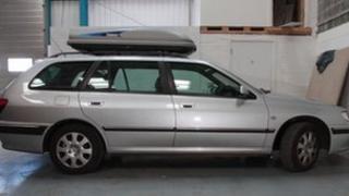 Silver Peugeot estate: Pic Devon and Cornwall Police