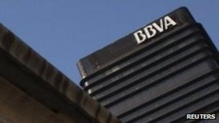 BBVA headquarters in Madrid