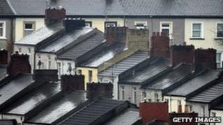 Generic image of terraced houses