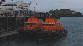 Lifeboats: Spirit of Guernsey and Roger and Joy Freeman