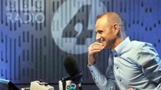 Evan Davis presenting Radio 4's The Bottom Line