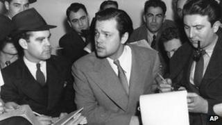 Orson Welles, talking to reporters on 31 October 1938 about his radio dramatization.