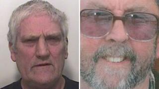 Derek George Gould, 60, of Westwood Road in Corsham (left) Michael Walsh, 57, (right