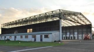 Hangar SE3 at Gloucestershire Airport