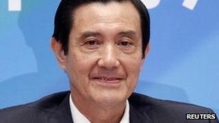 Taiwan's President, Ma Ying-jeou