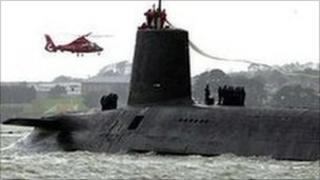 A Trident submarine