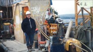Dennis McNally on Dartford Bridge