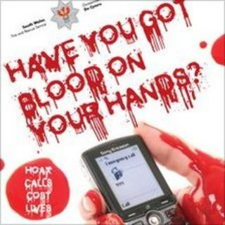 Blood on your hands campaign