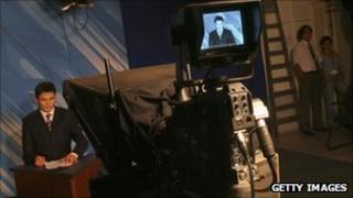 Presenter on Kazakh Khabar TV