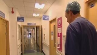 Southampton surgeon Marcus Haw