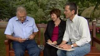Derek Wyre, Barbara Hogan and Gary Roberts