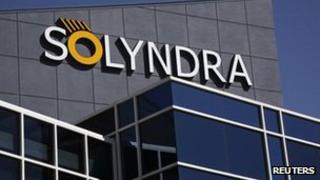 File photo of Solyndra headquarters 20 Sept 2011