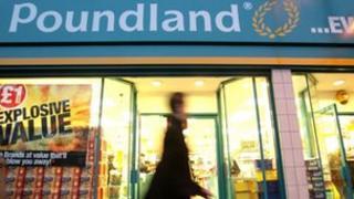 Poundland store generic