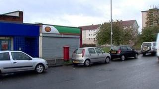 Post Office in Nitshill in Glasgow
