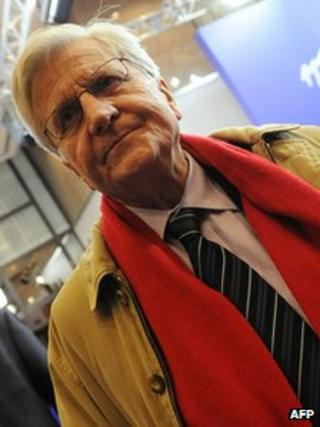 Outgoing European Central Bank President Jean-Claude Trichet