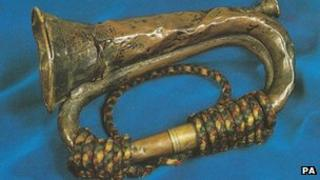 The bugle that sounded the Charge of the Light Brigade in 1854