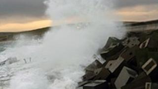 Churchill Barriers, Orkney. Picture courtesy of Scape