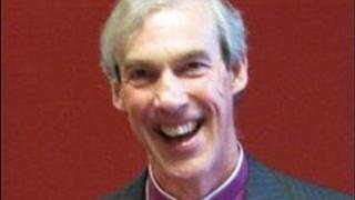 Bishop of Carlisle, the Rt Rev James Newcome