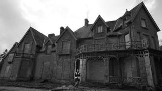 The set of the haunted house in County Antrim