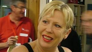 Hazel O'Connor at the launch on Monday