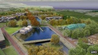 Artist's impression of Beechwood. Pic: HIE