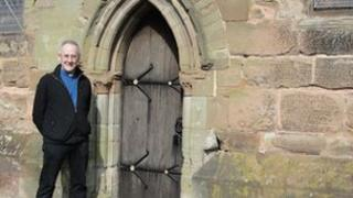 Reverend Chris Wingfield from St Johns Church in Bromsgrove