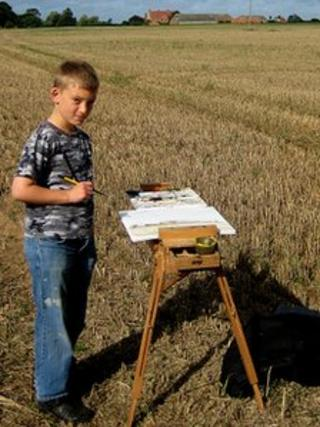 Kieron Williamson, child artist