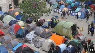 St Paul's protest camp