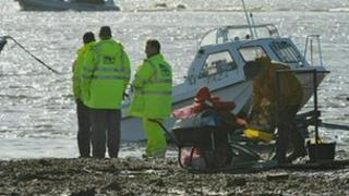 GLA officers at Ribble estuary