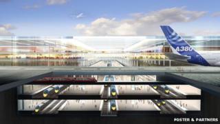 Estuary Airport plan