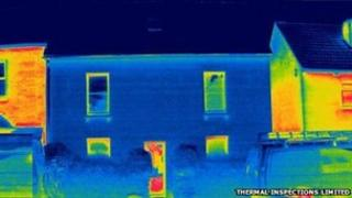 Thermal image of Grove Cottage, Hereford