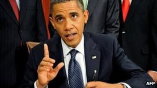 US President Barack Obama on 1 November 2011