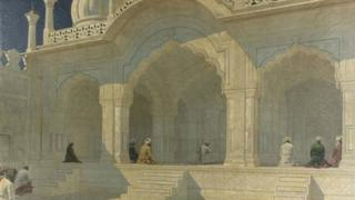 The Pearl Mosque at Delhi by Vasili Vasilievich Vereshchagin