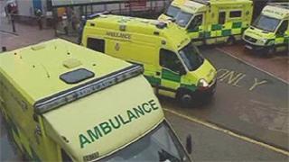Ambulances in Wales (generic)