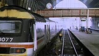 Handyside Bridge at Kings Cross in 1991