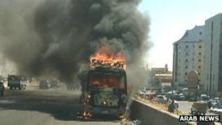 Fatal Saudi bus fire