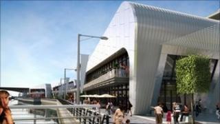 CGI image of the planned Broomielaw Quay development