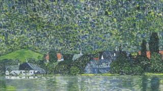 Litzlberg on the Attersee by Gustav Klimt (detail)