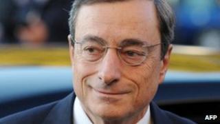 New ECB head Mario Draghi