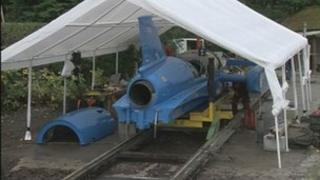 The Bluebird replica