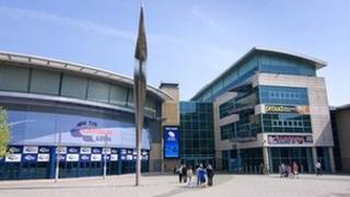 National Ice Centre in Nottingham